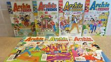 Lot of (7) Archie & Friends #30 - 45 Comics 1998 - 2001 ( Free Ship )