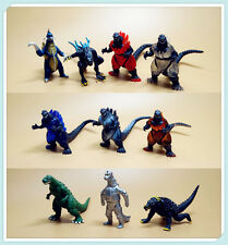 lot 10 Godzilla Monsters Mechagodzilla Trendmaster Gigan Anguirus  Figure