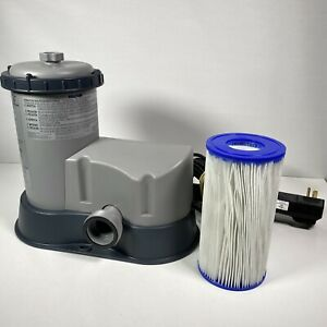 Bestway / Coleman 1500 Gallons / Hr FlowClear Filter Pump 90342 New W/O Box