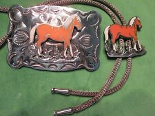 Belt Buckle/Bolo Set ( Vintage B-K )