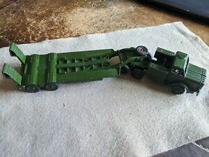Vintage Dinky Toys - Mighty Antar Tank Transporter