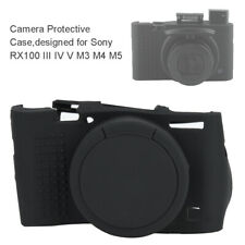 Soft Silicone Camera Case Protective Cover Skin for Sony RX100 III IV V M3 M4 M5