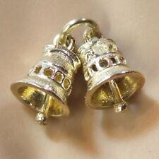 9ct Gold Wedding Bells Charm