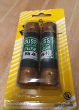 NOS Buss Fuses 2 pack 40amp  Cooper Bussmann -Made in the USA