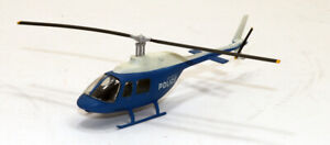 mb Built Up Kit Bell Jet Ranger Helicopter LAPD 1/90 close to  1/87 HO