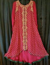 Pakistani Indian Designer Jeem Pure Wedding Chiffon Dress