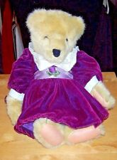 "1982 Fluffy Vanderbear in 1990 ""Musical Soiree"" Bear is Excellent Condition!"