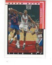 1993-94 UPPER DECK BASKETBALL TEAM MVPS DANNY MANNING #TM12 LOS ANGELES CLIPPERS