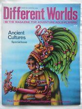 DIFFERENT WORLDS #32 (1984) • Superworld/Champions/Traveller/RuneQuest • VG+