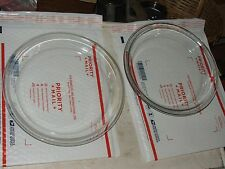 "2 VINTAGE PYREX PIE PLATES: #209 9"" & #210 10"", Made in USA; FAST S&H"