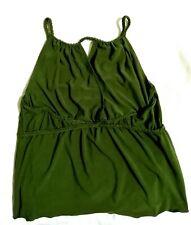 FREEWAY green grecian style cami top