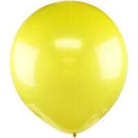 3pcs Big 36 inch Yellow Latex Balloon Birthday Wedding Party Baby Shower Photo