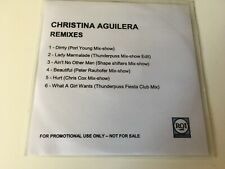 Christina Aguilera 6trk PROMO CD Remixes