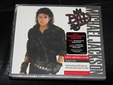 MICHAEL JACKSON - Bad 25th Anniversary - 2 CD w/ TARGET EXCLUSIVE BONUS DVD! NEW
