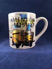 Universal Studios Minion Mishap Mug Cup Despicable Me Gold Metallic Stuart Bob