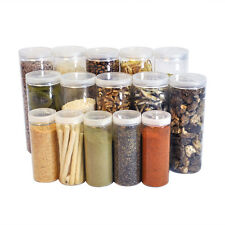 [ Silicook ] A set of 15 Fridge Food storage containers- Cylinder A set Bulk