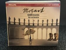 Philips Complete Mozart Edition Serenades For Orchestra 8 CD MINT 422503-2 Vol 3