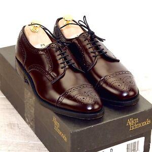 * NIB * $425 Allen Edmonds SANFORD 7 D Burgundy * 1st Q new Shoe Trees AE Bags