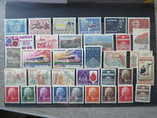 DENMARK mostly 1972-73 NICE COLLECTION MNH** /cL741