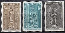 République Khmère 1973 Y&T N°332 à 334  3 timbres neufs sans charnière /T3969