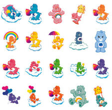 Care Bear characters, iron on T shirt transfer. Choose image and size
