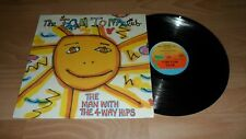 """THE TOM TOM CLUB - MAN WITH THE 4 WAY HIPS (RARE 12"""" VINYL SINGLE) TALKING HEADS"""