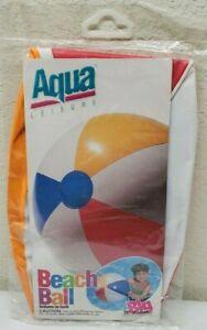 "Vintage 1997 - Aqua Leisure - SA-7010 - 20"" Beach Ball"