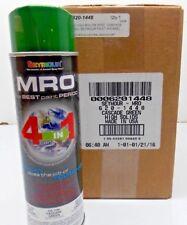 6) Seymour 620-1448 MRO Industrial Enamel 16oz Spray Paint Cascade Green72018-43