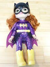 """DC Super Hero Girls 15"""" Batgirl Toddler Doll Complete outfit mask belt boots"""