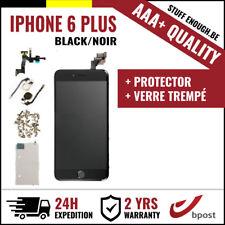 AAA+ LCD SCREEN SCHERM ÉCRAN ASSEMBLY BLACK NOIR +VERRE TREMPÉ FOR IPHONE 6 PLUS