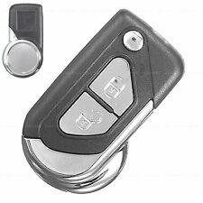 Citroen DS3 Klapp Funk Auto Schlüssel Ersatz Gehäuse 2 Tasten Rohling Cabrio Neu