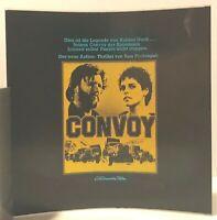 Kino # Film-Werbe-Dia # 85mm x 85mm # Kris Kristofferson + Ali MacGraw # Convoy