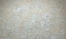 Magnolia Home Atlantis Reed Wheat Tropical Floral Linen Blend Fabric By The Yard