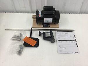 DAYTON -  32V134 Open Drum Mixer 1/2 HP 316 SS