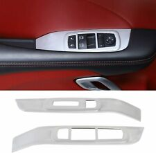 Window Lift Trim Switch Panel Accessories for Dodge Challenger 2015 up (Silver)
