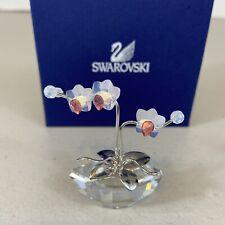 New ListingSwarovski Crystal Figurine Orchid Flower Dreams 869948