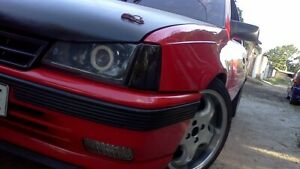 Opel Kadett E  Polycarbonate Headlight Covers for retrofit, pair.