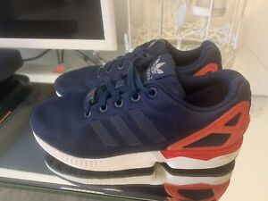 Adidas Flux Navy Trainers Size 4