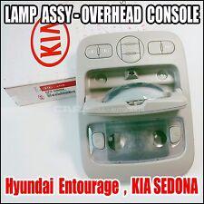 Hyundai Entourage  KIA Sedona Overhead Console Lamp Sliding Door  92810-4D060QW