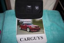 2008 DODGE AVENGER  OWNERS MANUAL WITH  CASE