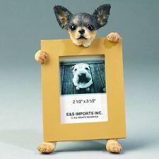 CHIHUAHUA PICTURE FRAME / CHOICE  TAN OR BLACK