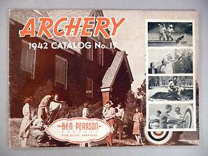 Ben Pearson Archery CATALOG - 1942