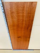 Mahogany Rippled Guitar Cap WOODTURNING FIGURED Character TIMBER Craft Plinth