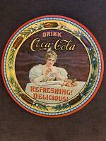 Vintage 1976 Coca Cola 75th Anniversary Metal Commemorative Serving Tray