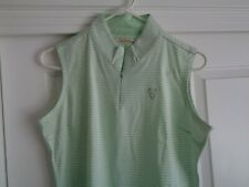 Peter Millar Medium Golf Sleeveles Shirt - Walrus - Excellent! New w/o Tags!