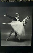 1974 Max Waldman , Natalia Makarova  Mikail Baryshnikov American ballet GISELLE