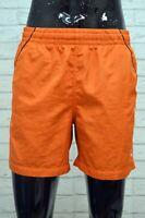 Costume NIKE Uomo Size M Mare Piscina Pantaloncino Shorts Rete Kostüm Arancione