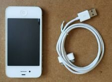 Apple Iphone 4 White 8GB Memory with Charging Cable Model #A1332 EMC 380A Tested