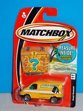 Matchbox 2005 Bonus Prize Treasure Chest Package #11 Ford Transit Yellow