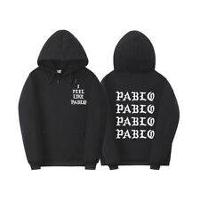 I Feel Like Paul Pablo Kanye West hip hop homme hoodies men Sweatshirt Hoodies